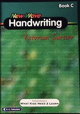 RIC Publications ~ NEW WAVE HANDWRITING ~ Victorian Cursive Workbook C 7-8 Yrs