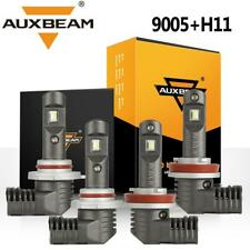 AUXBEAM H11 9005 LED Headlight for Chevrolet Silverado 2500 3500 HD 07-18 Hi-Lo