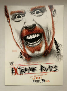 """WWF WWE Poster Sheamus Farrelly Extreme Rules 2010 4/25/10 Wrestling 12"""" x 16"""""""