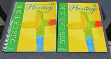 Our Catholic Heritage Text & Teacher  ed.  Catholic Homeschool  level 1