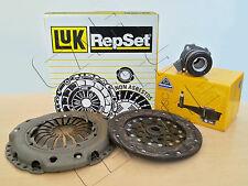 FOR VAUXHALL ZAFIRA 2.0 DTI LUK CLUTCH KIT + QUALITY CSC BEARING Y20DTH 99-05