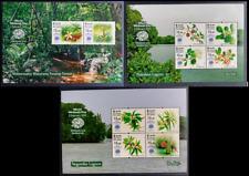 Sri Lanka Stamp World Wetland Day 2020 Mini Sheet Set (3 MS)