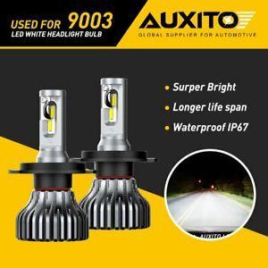 AUXITO H4 9003 HB2 CSP LED Headlight Conversion Kit High Low Beam Bulb 6000K G