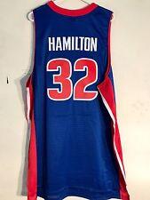 Adidas Swingman NBA Jersey Detroit Pistons Richard Hamilton Blue sz 3X