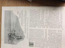 m12c ephemera 1896 short story the three correspondents a conan doyle