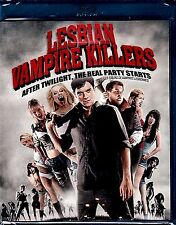 NEW BLU-RAY  // LESBIAN VAMPIRE KILLERS // Mathew Horne, James Corden, Paul McGa