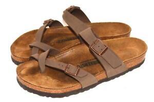 EUC BIRKENSTOCK Taupe Birko-flor Sandals Size 41 EU, 10 US Women's 8 Men