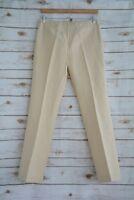 Vintage THE LIMITED - Beige linen blend dress pants, size 6 (defects)