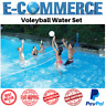 Swimline Cross Pool Volleyball Game Water Set With Heavy Duty Net Real Feel Ball