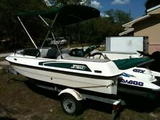 JetMax boat with Seadoo Bombardier and trailer