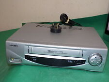 BUSH VCR906SIL Video Cassette Recorder VHS Smart VCR Silver FULLY TESTED