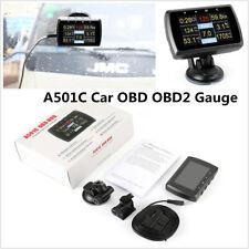 Car Driving Computer OBD2 Digital Meter Gauge With Speed Meter Fuel Consumption