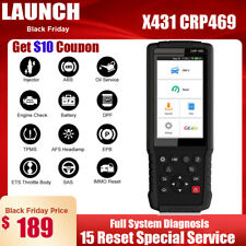 LAUNCH X431 CRP469 OBD2 Scanner Fault Code Reader ABS SAS DPF TPMS IMMO OilReset