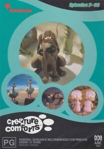 Creature Comforts : S1 V2 - DVD Wallace and Gromit CREAtOR StOP MOtION tV SERIES