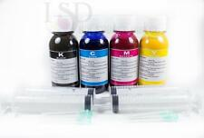 4x100ml Pigment refill ink for Epson 126 T126 WorkForce 840 845 Stylus NX430