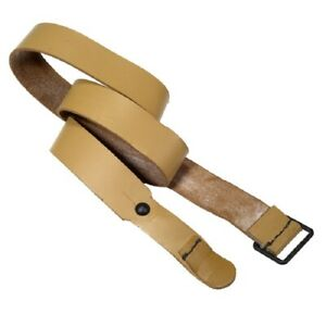 French MAS-36 Military Surplus Leather Rifle Sling - Mint Unissued Condition