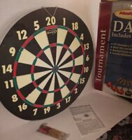 Halex Tournament Dart Game Baseball 6 Deluxe Brass Darts