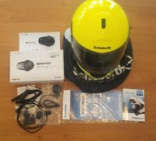 Schuberth C3 Helmet Fluo Yellow with Bluetooth Headset & Intercom **LAST CHANCE*