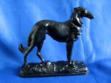 1976 Heavy Kasli Vintage Soviet Russian Cast Iron Dog Borzoi Figurine Statue