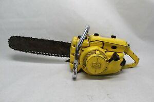 """Vintage McCulloch 250 Chainsaw W/ 18"""" Bar & Chain"""