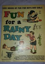 Vintage 1945 WM. PENN Ace Publishing Fun For A Rainy Day Childrens Activity Book