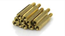 OTTONE 10mm M10 Threaded BAR studding Rod ALBERO allthread 200mm MODEL MAKER