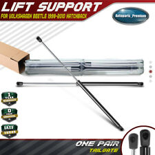 2 Rear Hatch Liftgate Lift Supports Shock Rod For 12-16 VW Beetle With Spoiler