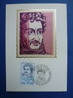 LOT 9243 TIMBRES STAMP CARTES MAXIMUM PERSONNALITES FRANCE ANNEE 1976