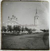 Russie Eglise Foto Stereo PL59L10n12 Placca Da Lente Vintage