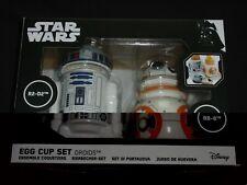 Star Wars Funko Ceramic Egg Cup Set (R2-D2 & BB-8),NEW Boxed.