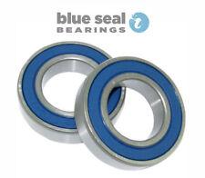 Componentes y piezas azul acero para bicicletas