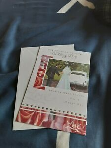 Wedding day Card - NEW - car