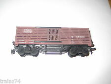 HO Scale UNION PACIFIC RAIL ROAD Livestock Train Car