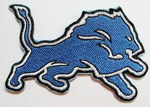 LOT OF (1) NFL DETROIT LIONS FOOTBALL LOGO PATCH PATCHES (LARGE) ITEM #18