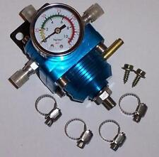 UNIVERSAL ADJUSTABLE FUEL PRESSURE REGULATOR & GAUGE