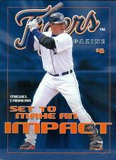 2008 Detroit Tigers Program: Miguel Cabrera on Cover
