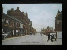 POSTCARD B42-1 LEICESTERSHIRE COALVILLE HIGH STREET EARLY 1900'S