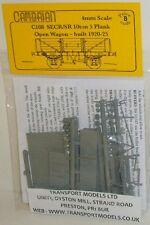 Cambrian C108. SECR/SR 10 Ton 5-Plank Wagon Kit. (00)