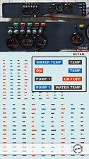 200+ DASH BOARD LOGOS for 1/18 1/20 1/24 CARS TAMIYA FUJIMI REVELL FUJIMI HASEGA