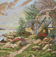 Maia 1082 - SEASIDE HIDEAWAY - Kit Broderie Point de Croix Compté - T.Kinkade