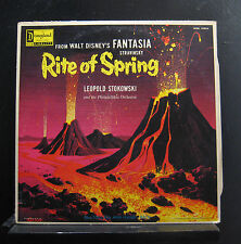 Leopold Stokowski - Walt Disney's Fantasia Rite Of Spring LP VG+ WDL 4101A 1st