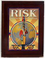 Risk Vintage Collection Wooden Bookshelf Box Game Parker Brothers war conquest