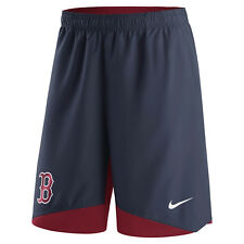 NIKE BOSTON RED SOX AUTHENTIC COLLECTION DRY WOVEN PERFORMANCE SHORTS 2XL