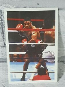 1986 Mike Tyson ROOKIE Card A Question Of Sport - Good Condition  Auction 🥊🥊