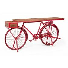 Console Table Bicycle Red