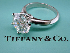 TIFFANY & CO PLAT ROUND DIAMOND SOLITAIRE RING ~ 2.01ct F VVS2 GIA CERTIFICATE