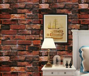 10m Sticker Brick Pattern Self-adhesive Wallpaper Bedroom living room Background