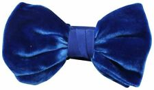 Knightsbridge Neckwear Mens Velvet Bow Tie - Royal Blue