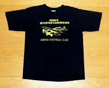 Iowa Barnstormers Arena Football Club Vintage 100% Cotton T-Shirt L Youth Large