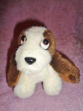 """Dog Beagle Puppy Stuffed Plush 6"""" Atico International Shanghai Sad Eyes AS IS"""